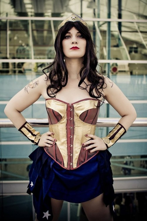 Wonder Woman steapunk