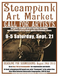 Poster for a Call for Artists